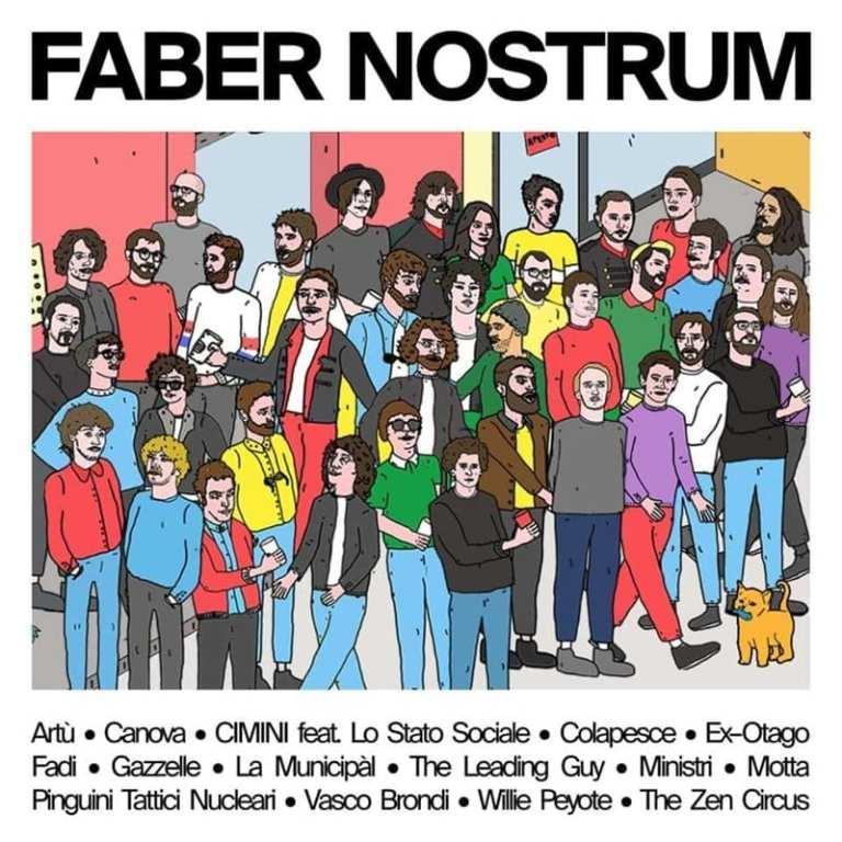 """""""Faber Nostrum"""", l'album tributo delle nuove generazioni a Fabrizio de Andrè"""