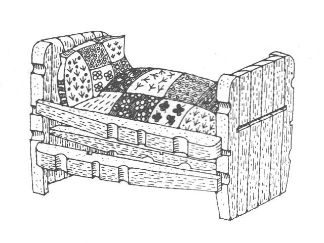 Clothespin Bed