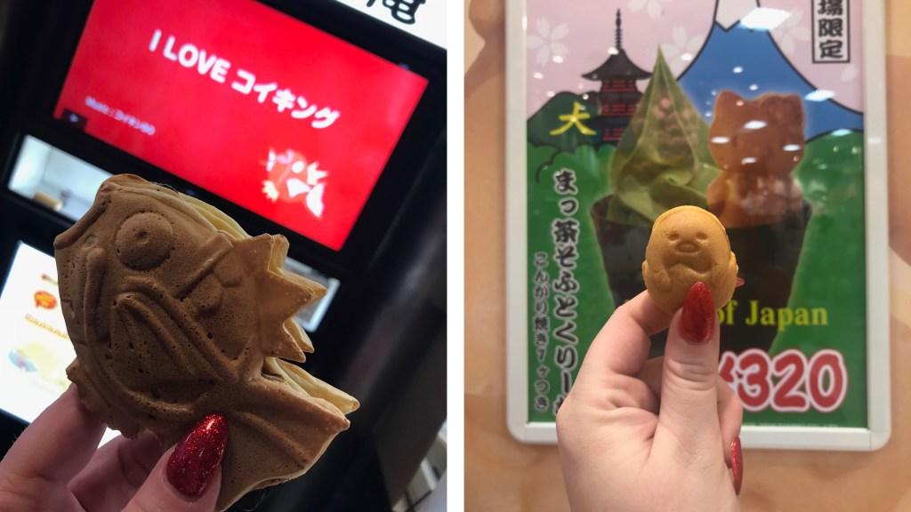 character snacks in tokyo