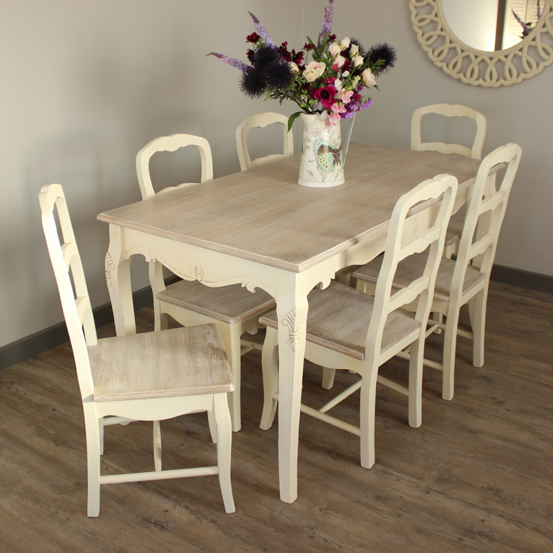 large kitchen table virtual cream dining room set and 6 chair country ash range chairs