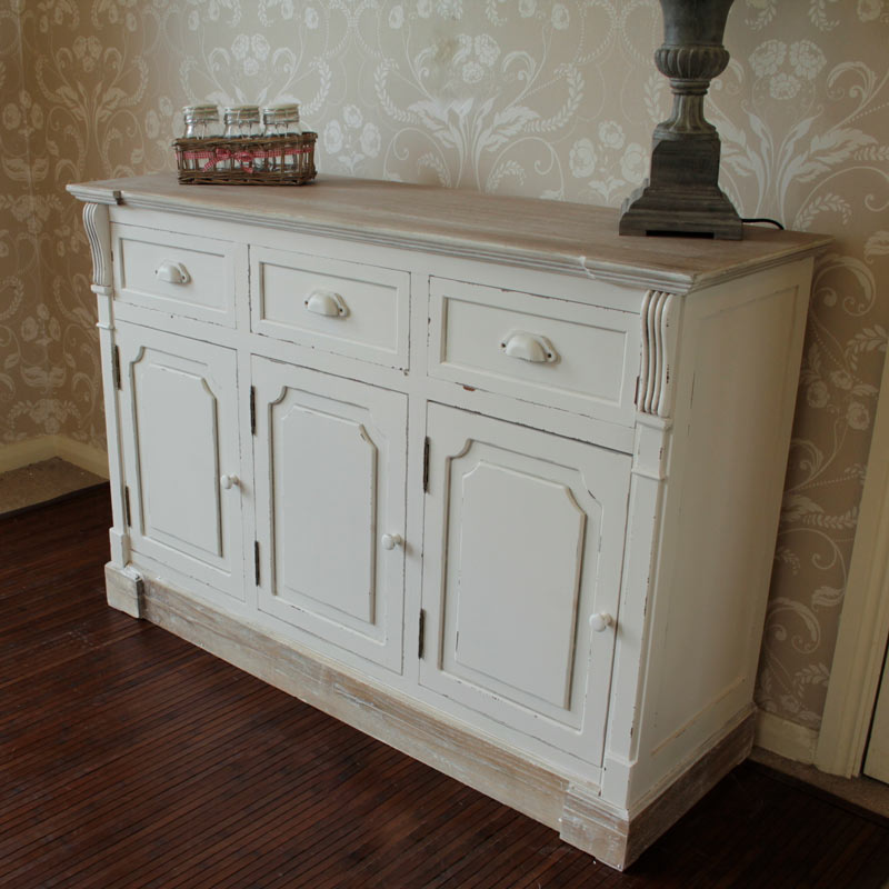 Cream sideboard storage unit  Lyon Range  Melody Maison