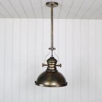 Industrial Gold Ceiling Pendant Light Fitting - Melody Maison