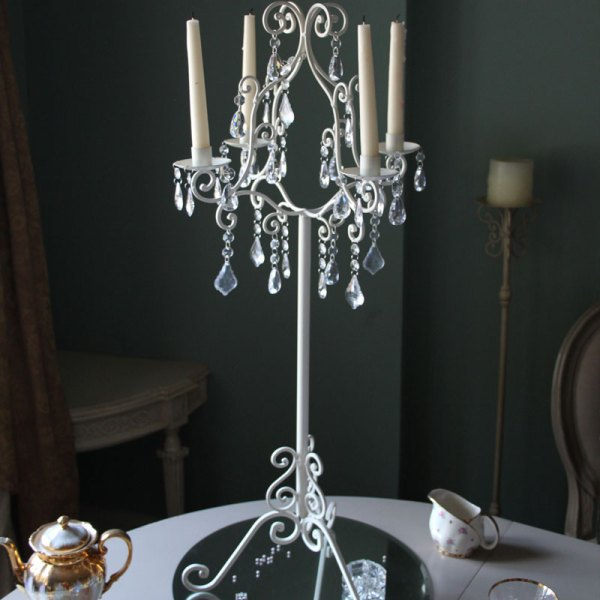 Tall 4 Arm Candelabra - Melody Maison