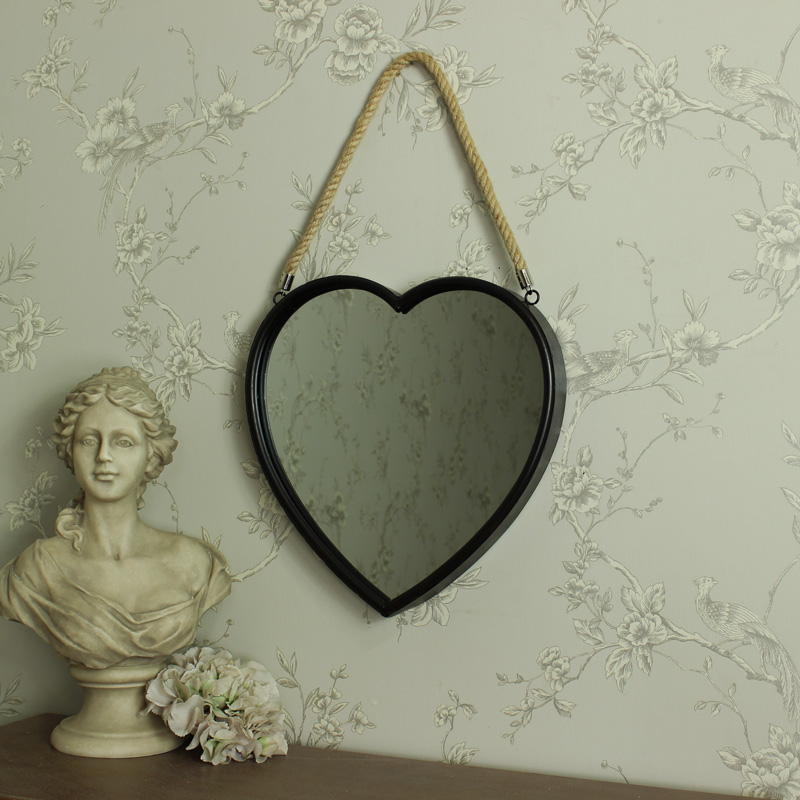 large rustic metal heart