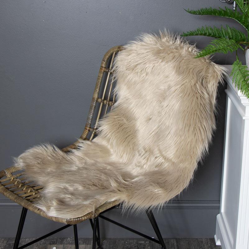 luxury soft faux fur