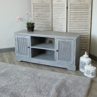 grey television cabinet TV stand living room furniture ...