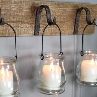 Rustic Wall Mounted Hook Tealight Holder - Melody Maison
