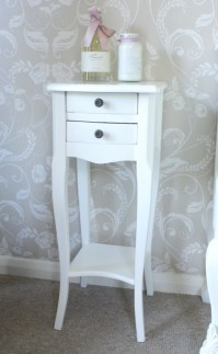 BUAT TESTING DOANG: Very Narrow Bedside Table Small Spaces