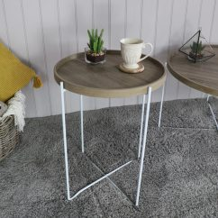 Tall Living Room Tables New Style Round Occasional Side Table Melody Maison