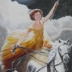 """Anna, 2012, Full Colour Acrylic Painting on Canvas, 18""""x24"""""""