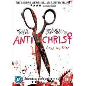 Antichrist DVD Willem Dafoe
