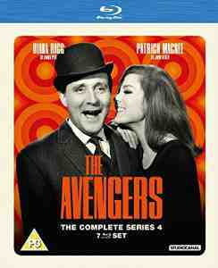 Avengers 4 Blu ray Patrick MacNee