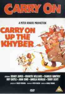 Carry Khyber DVD Kenneth Williams
