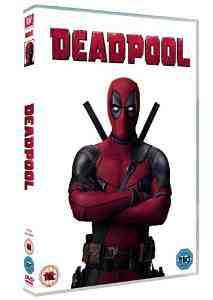 Deadpool DVD Ryan Reynolds