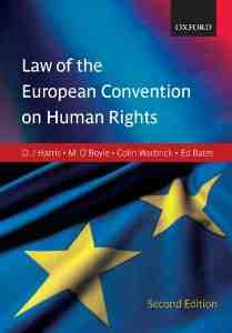 Harris OBoyle Warbrick European Convention