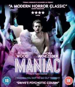 Maniac Blu ray Elijah Wood