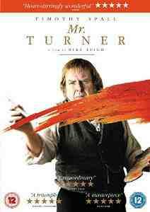 Mr Turner DVD Timothy Spall