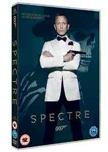 Spectre DVD Daniel Craig