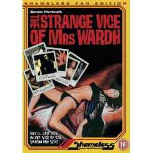 Strange Vice Mrs Wardh DVD