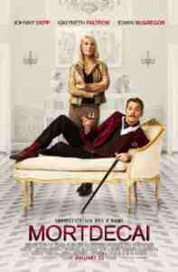 Poster Mortdecai 2015 David Koepp