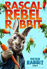 Poster Peter Rabbit 2018 Will Gluck