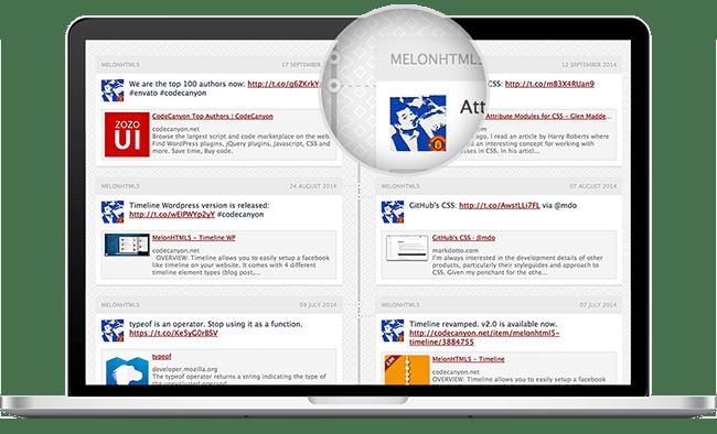 MelonHTML5 - Timeline WP - 3