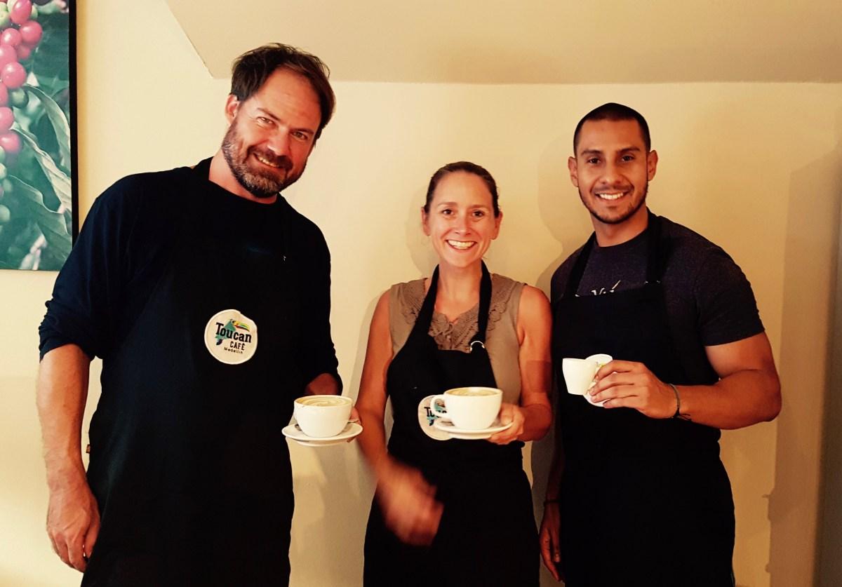 Coffee Tasting at Toucan Café Medellin