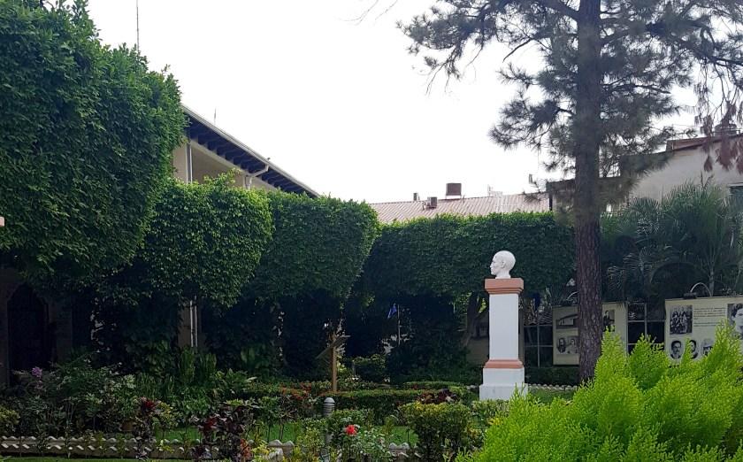 Garden at UNAN León