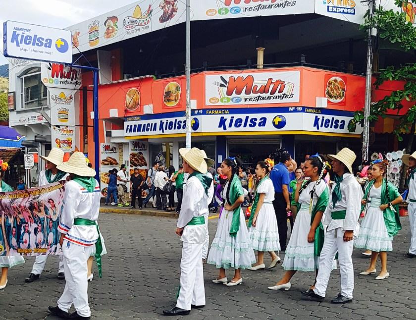 Matagalpa parade
