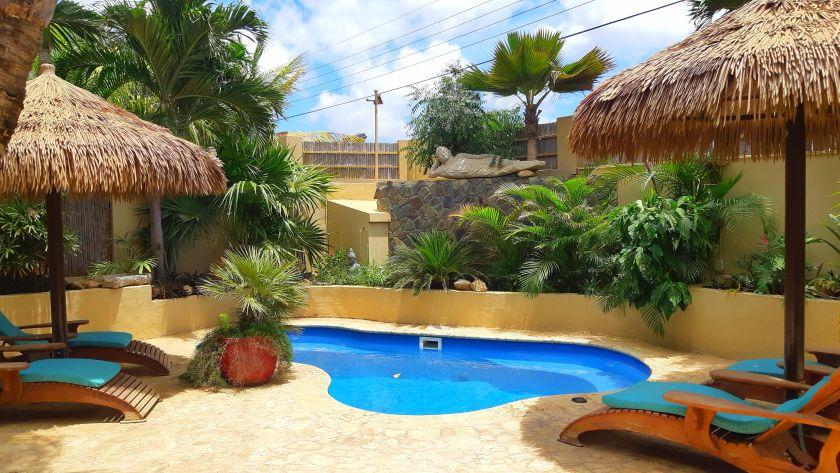 Pool at Bamboo Bali resort