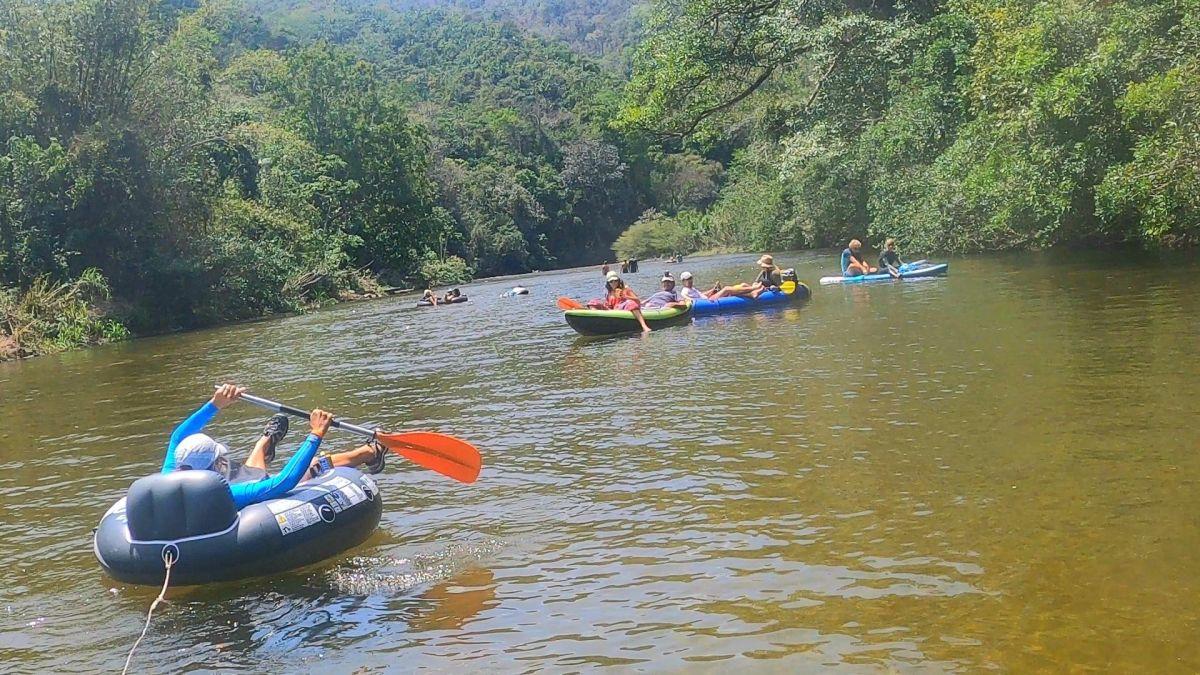 Rafting Down The Rio Palomino
