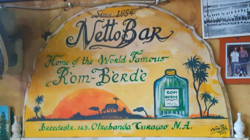Netto Bar sign Willemstad Curacao