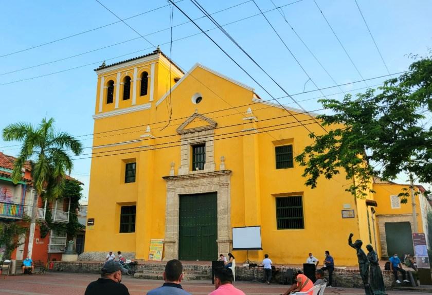 Trinidad Church in Getsemani