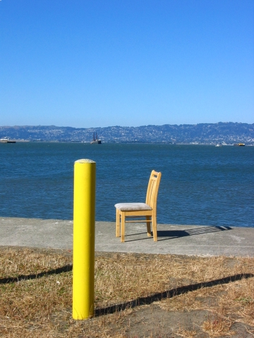 chair on treasure island