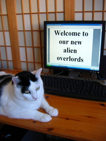 welcome to our new alien overlords
