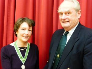 Rebecca and Richard Presidents 2016 AGM