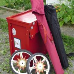 Folding Chair Storage Hooks Swing With Canopy John Smith Busker Organ - Box Cart