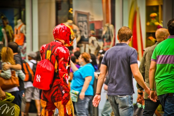 Iron Man in New York
