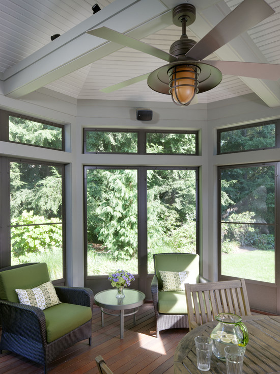 Tudor Addition Screened Porch (Boston)