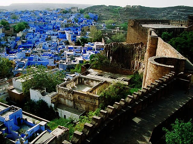 Blue City, Jodhpur, India