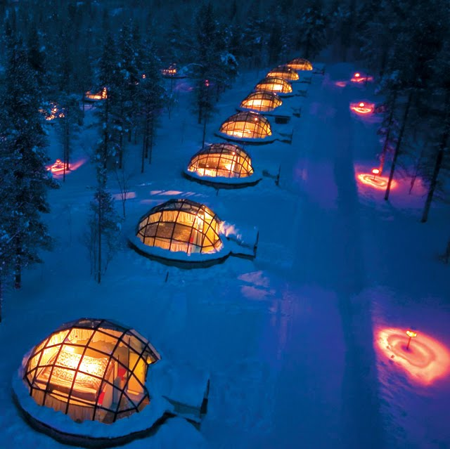 Kakslauttanen Hotel & Igloo Village, Finland