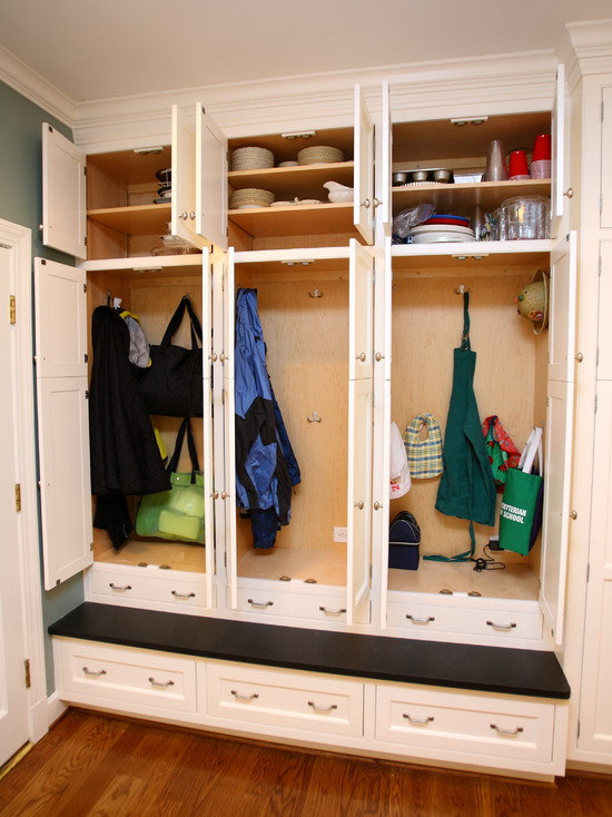 Laundry Room And Storage Spaces