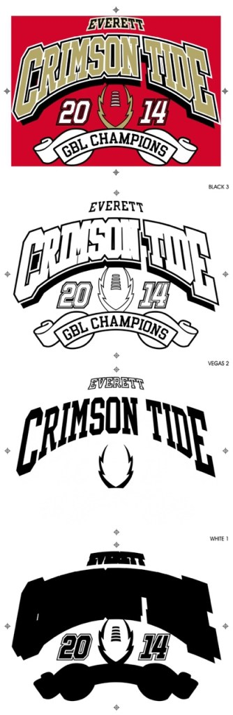 separations for Everett crimson tide football