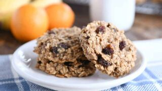 Healthy Breakfast Cookies {Perfect for Snacks Too}