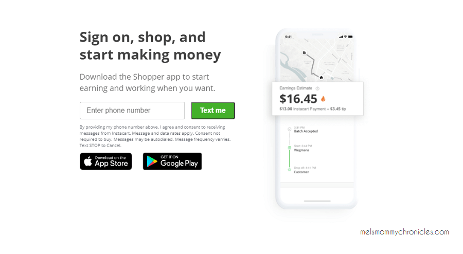 making money with instacart