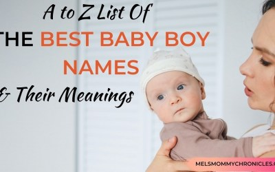 A to Z of the Best Baby Boy Names and Meanings behind Them