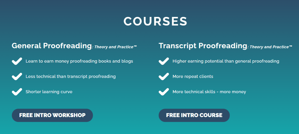 Proofread anywhere reviews: Proofread anywhere courses