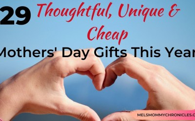 Thoughtful Unique But Cheap Mothers' Day Gifts This Year (2021)