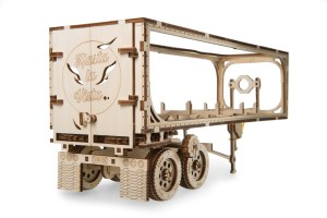 Ugears Heavy Boy Truck VM-03 Trailer model  kit