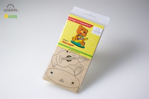 Ugears 4Kids coloring Bear 10